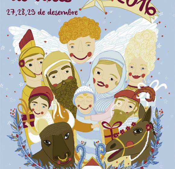 Imatge cartell Pessebre vivent de Valls. Ajuntament de Valls